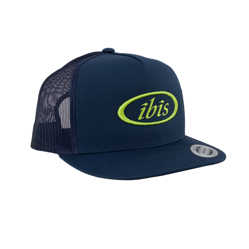 IBIS Navy Trucker Cap - Adjustable Snapback