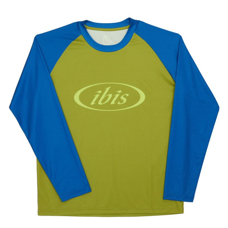 IBIS Trail Jersey / Green & Blue