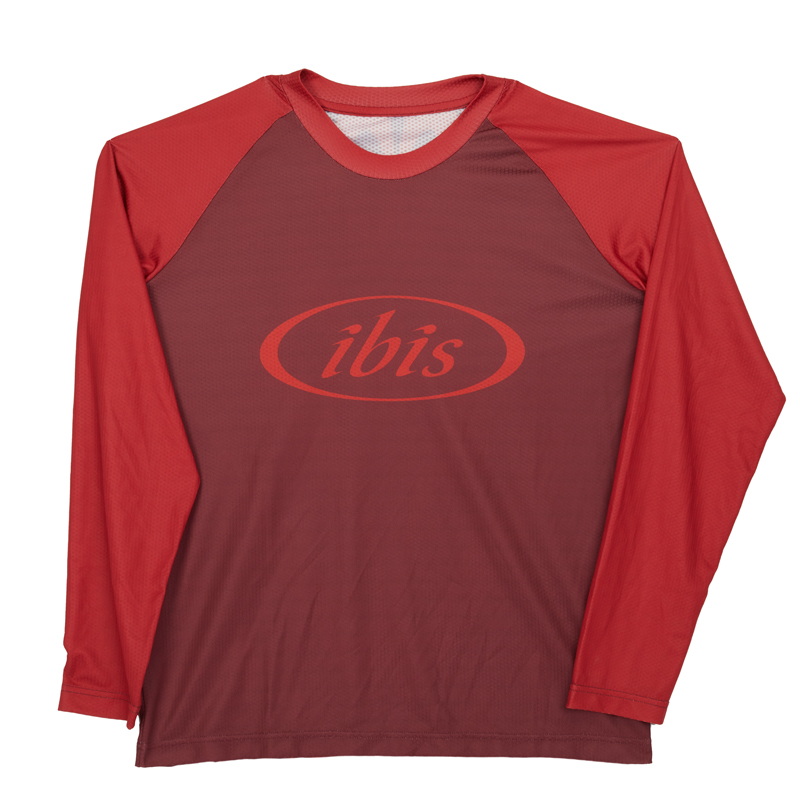 IBIS Trail Jersey / Red on Red