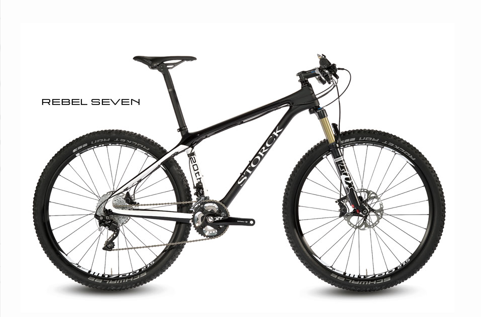 STORCK rámový set Rebel Seven G1 / 20th Anniversary