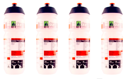 TUNE Bottles 500 ml / sada 4 ks