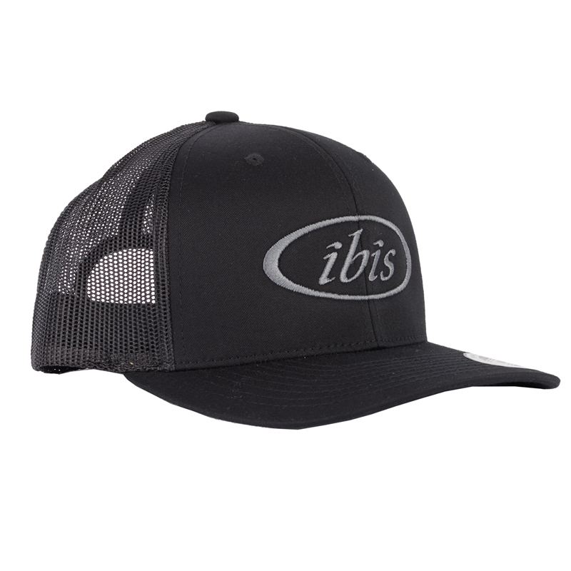 IBIS Hat - Trucker - Black / Grey